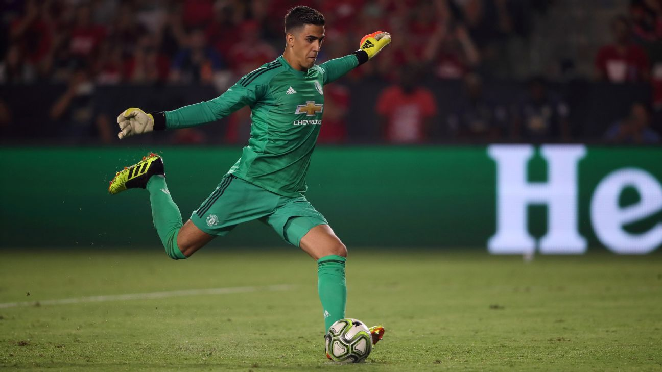 Manchester United goalkeeper Joel Pereira was part of the club's preseason tour of the U.S.