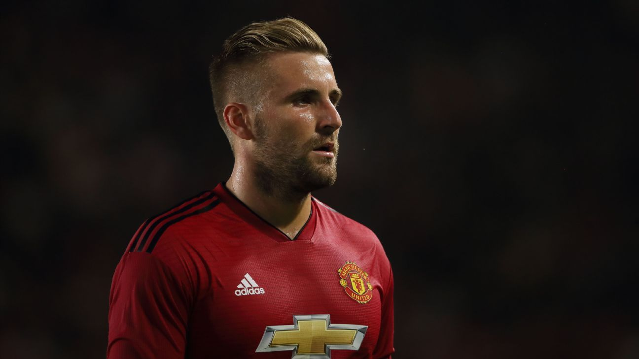 Luke Shaw says he wants to fight for his place at Manchester United.
