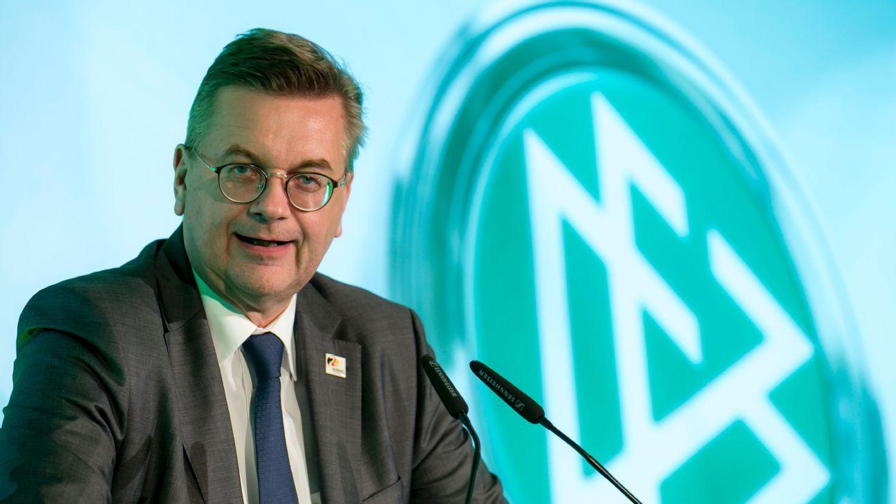DFB president Reinhard Grindel