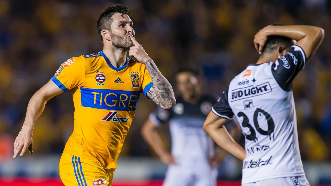 Tigres striker Andre-Pierre Gignac remains the face of Liga MX.