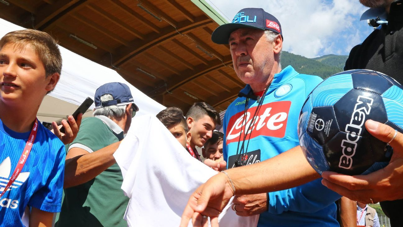 Carlo Ancelotti's proud return to Serie A is not just a point of pride for his new club, Napoli. It's a source of pride for Italian soccer, too.