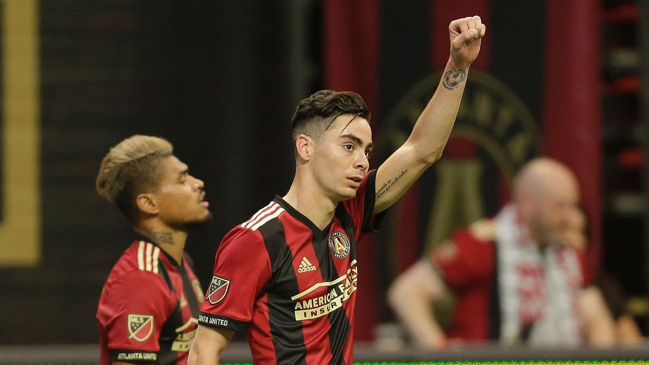 Miguel Almiron is one of MLS' brightest talents and against Juve he'll be looking to show the world.