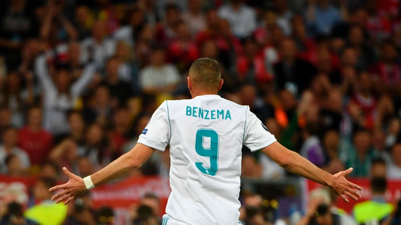 Real Madrid No. 9 Karim Benzema has struggled in the wake of Cristiano Ronaldo's departure.