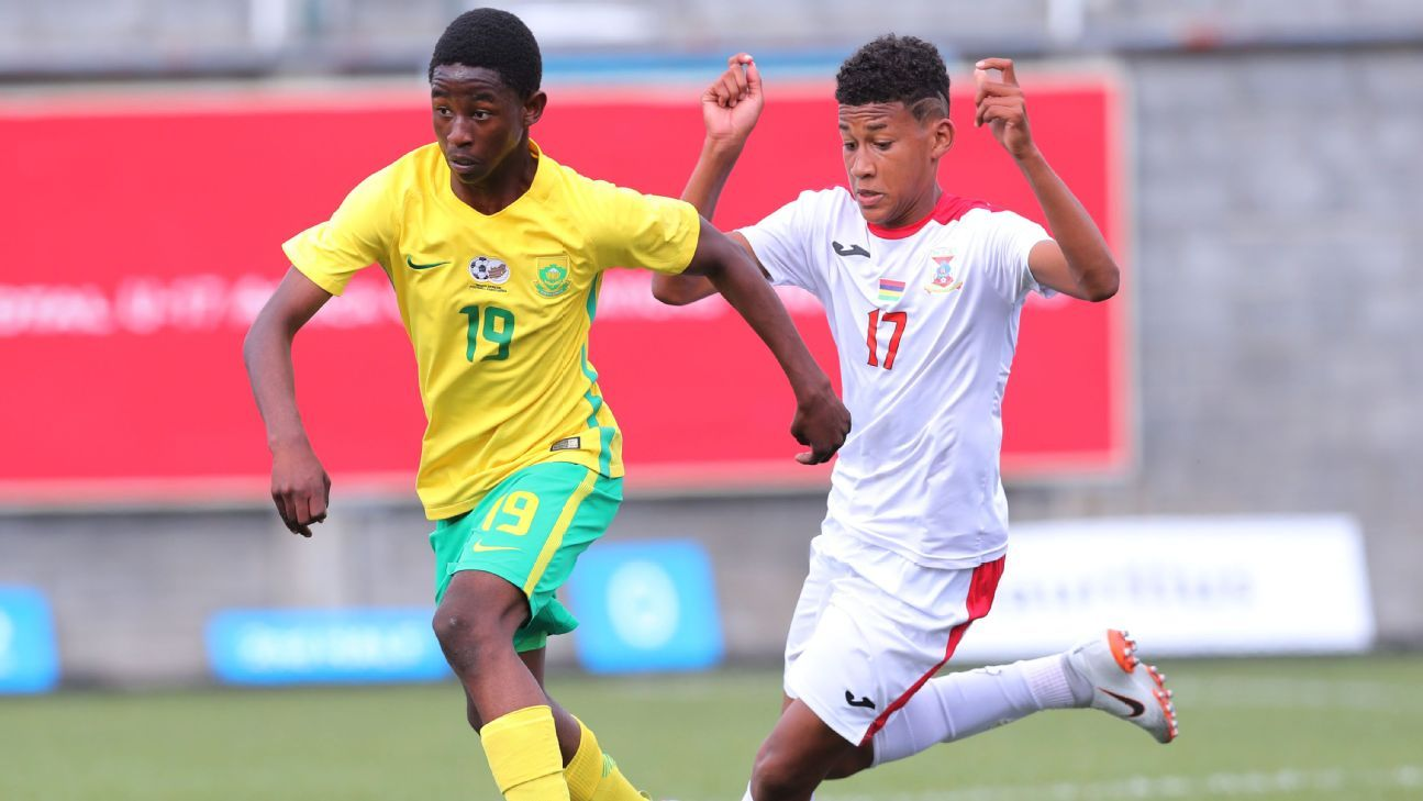 Thando Buthelezi of South Africa, Angel Darel Denzel Arthee of Mauritius