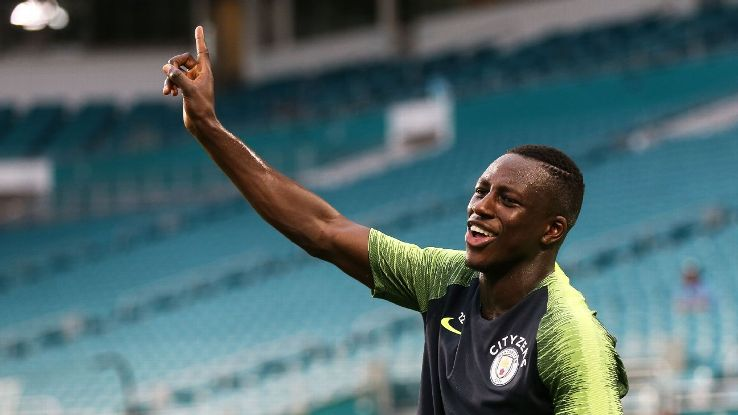 Benjamin Mendy is ecstatic to be back healthy and be back with his Man City teammates.