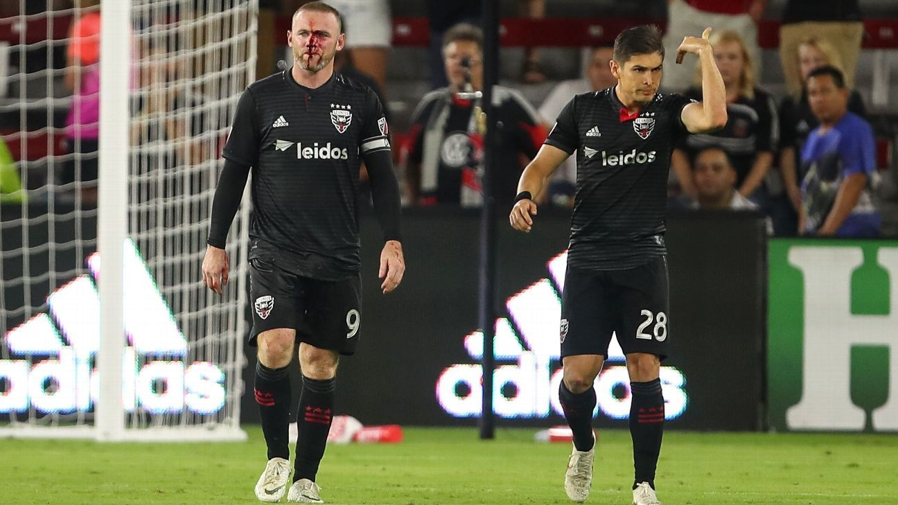 Wayne Rooney suffers broken nose as DC United secure late win - report