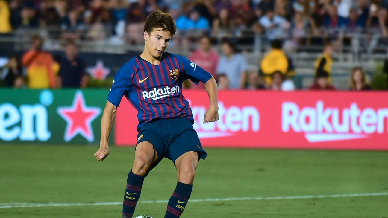 Riqui Puig might look like a child but there was nothing childlike about his performance against Tottenham.