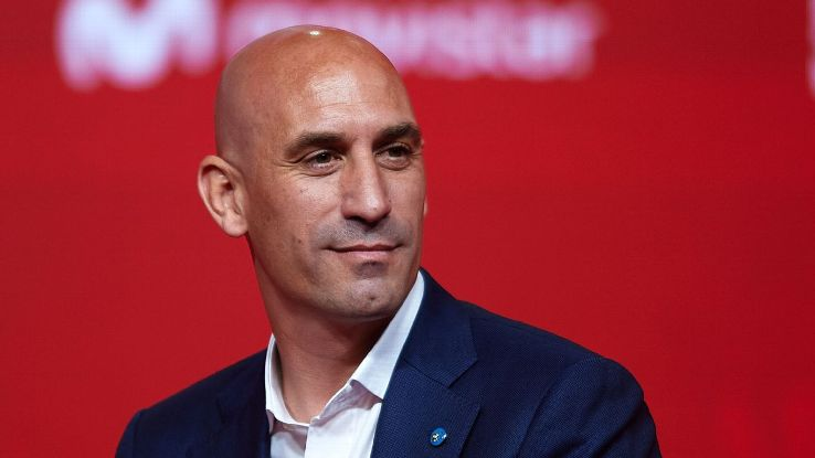 Luis Rubiales, president of the Spanish football federation