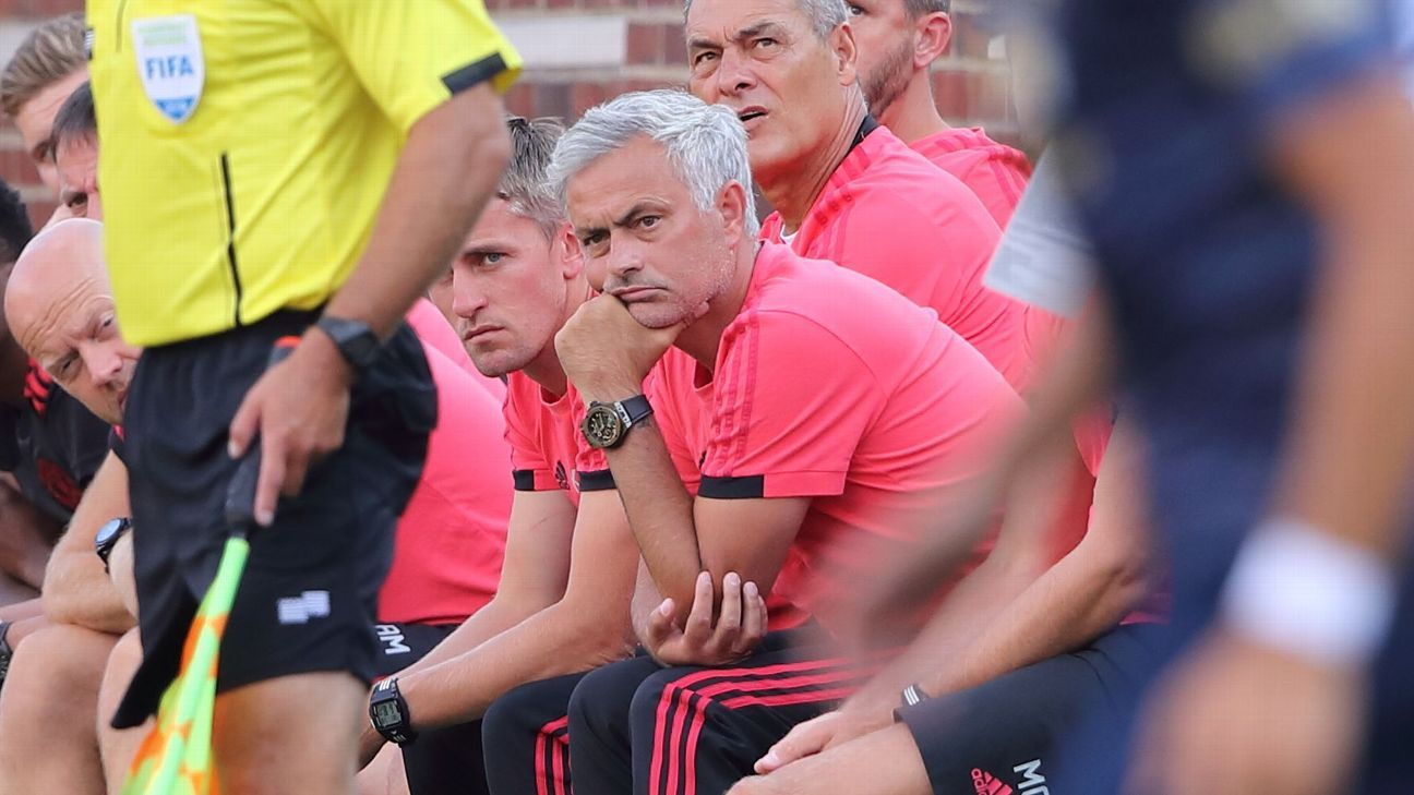 Jose Mourinho had little to smile about during the summer transfer window.