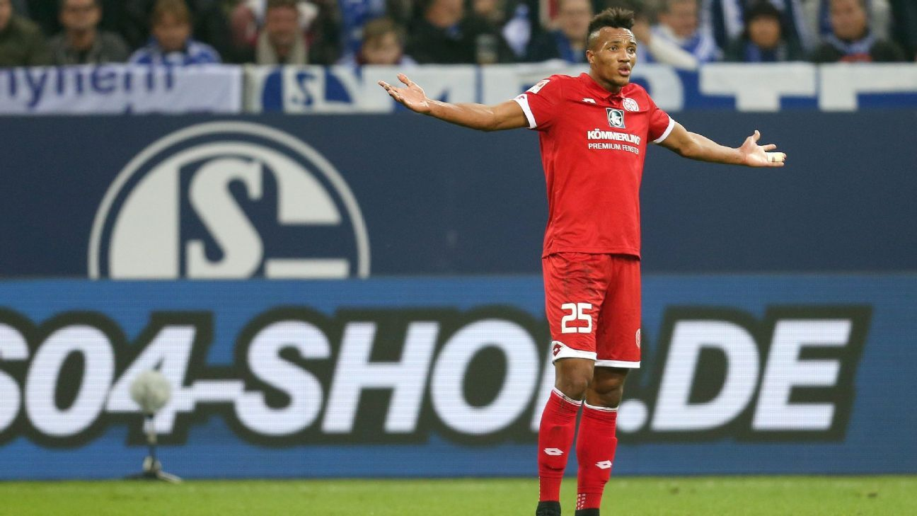 Jean-Philippe Gbamin of Mainz