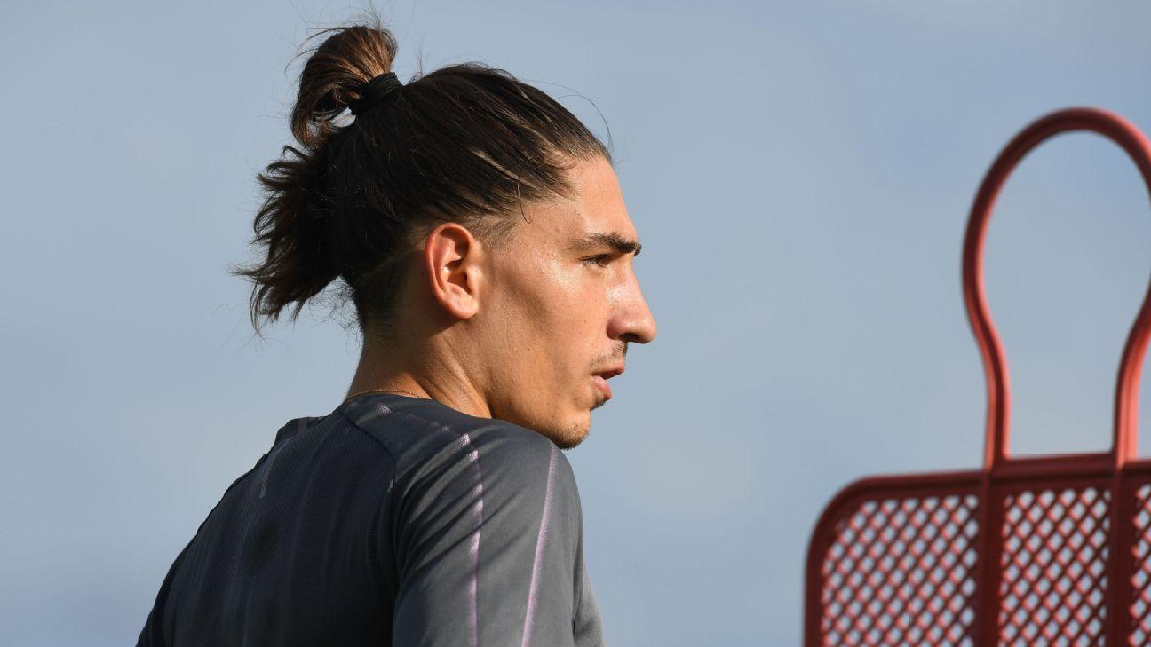 Hector Bellerin says Arsenal training has changed under Unai Emery.