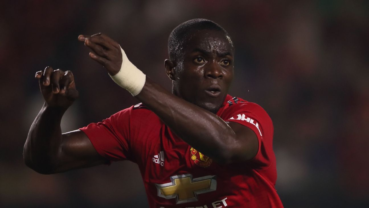 Eric Bailly of Manchester United during the International Champions Cup 2018