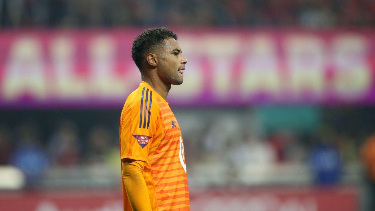 U.S. goalkeeper Zack Steffen on brink of Manchester City transfer - sources