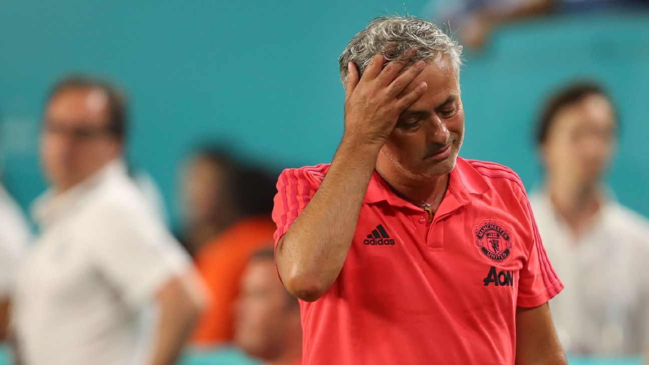 Jose Mourinho has endured a frustrating summer with a lack of movement in the transfer market.