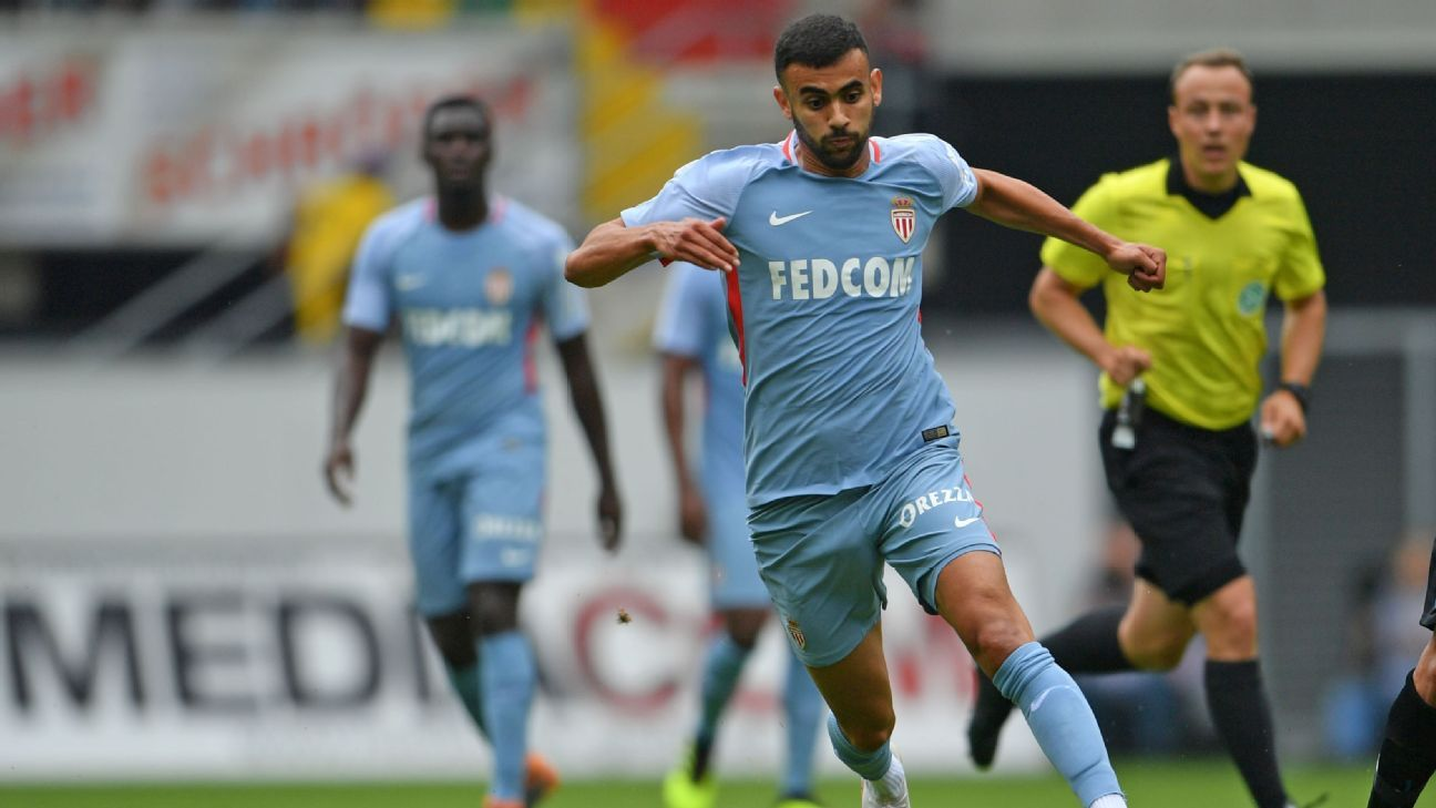 Monaco's Rachid Ghezzal has been a long-term target of Watford.
