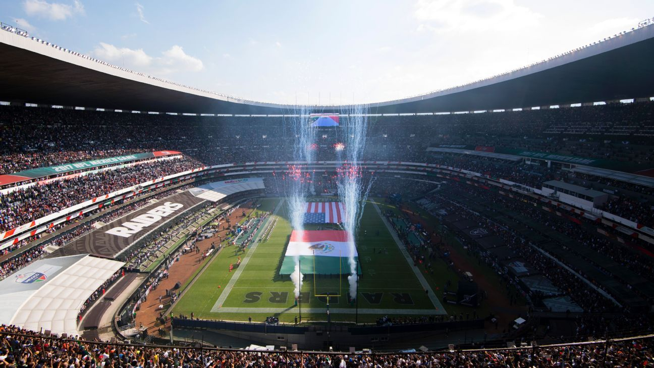 An NFL game, a series of concerts and Liga MX Femenil add to a busy schedule at the Estadio Azteca this year.