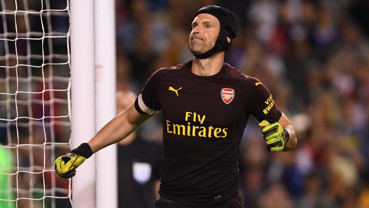 Petr Cech's rigorous offseason work should be a clear sign that he's ready to be Arsenal's leader between the posts.