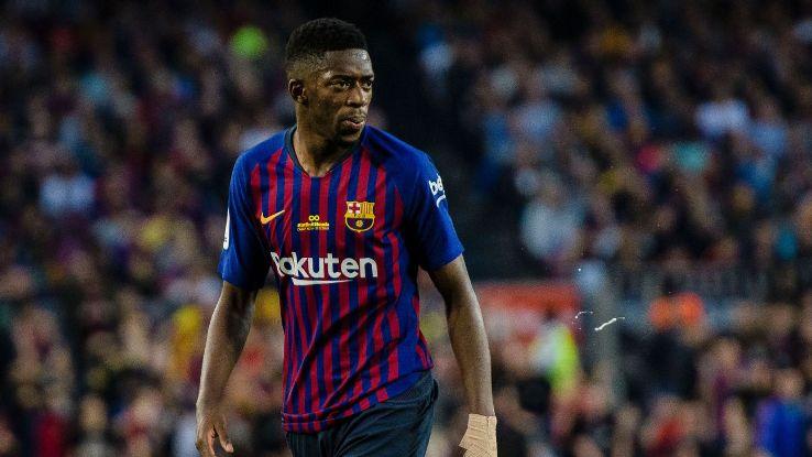 Barcelona's Ousmane Dembele.