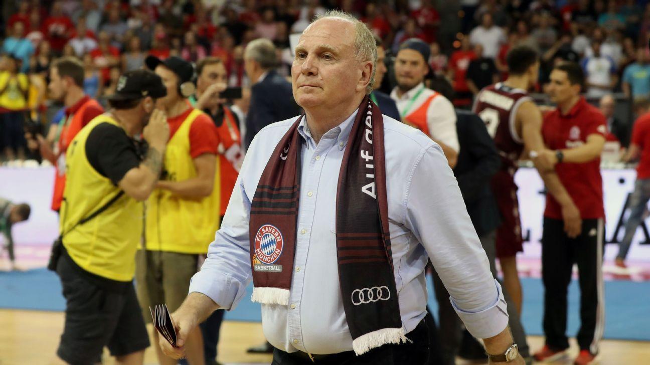 Bayern Munich president Uli Hoeness.
