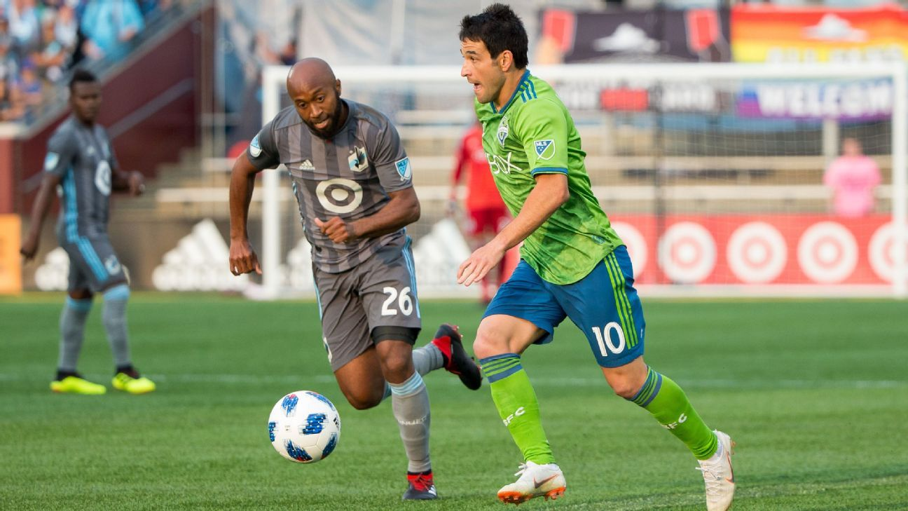 Seattle Sounders stun Minnesota United in stoppage time for 2-1 win