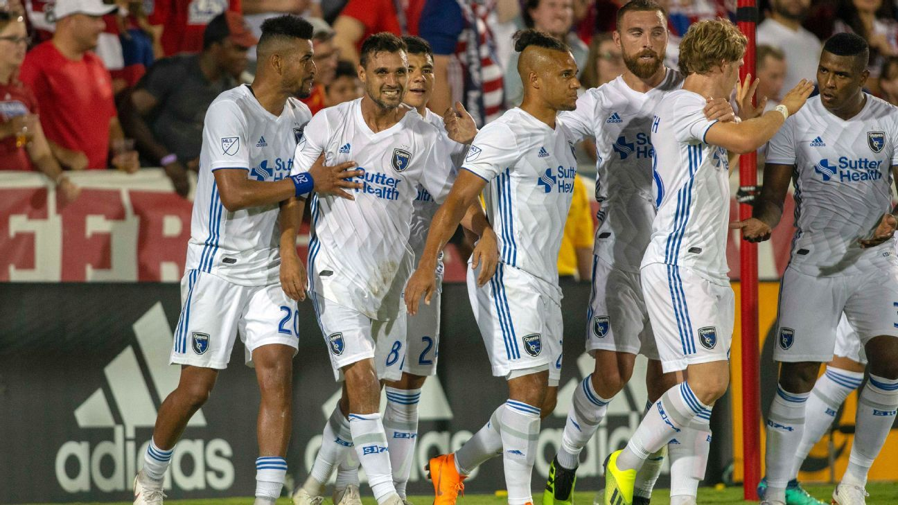 Last-place San Jose Earthquakes shock first-place FC Dallas