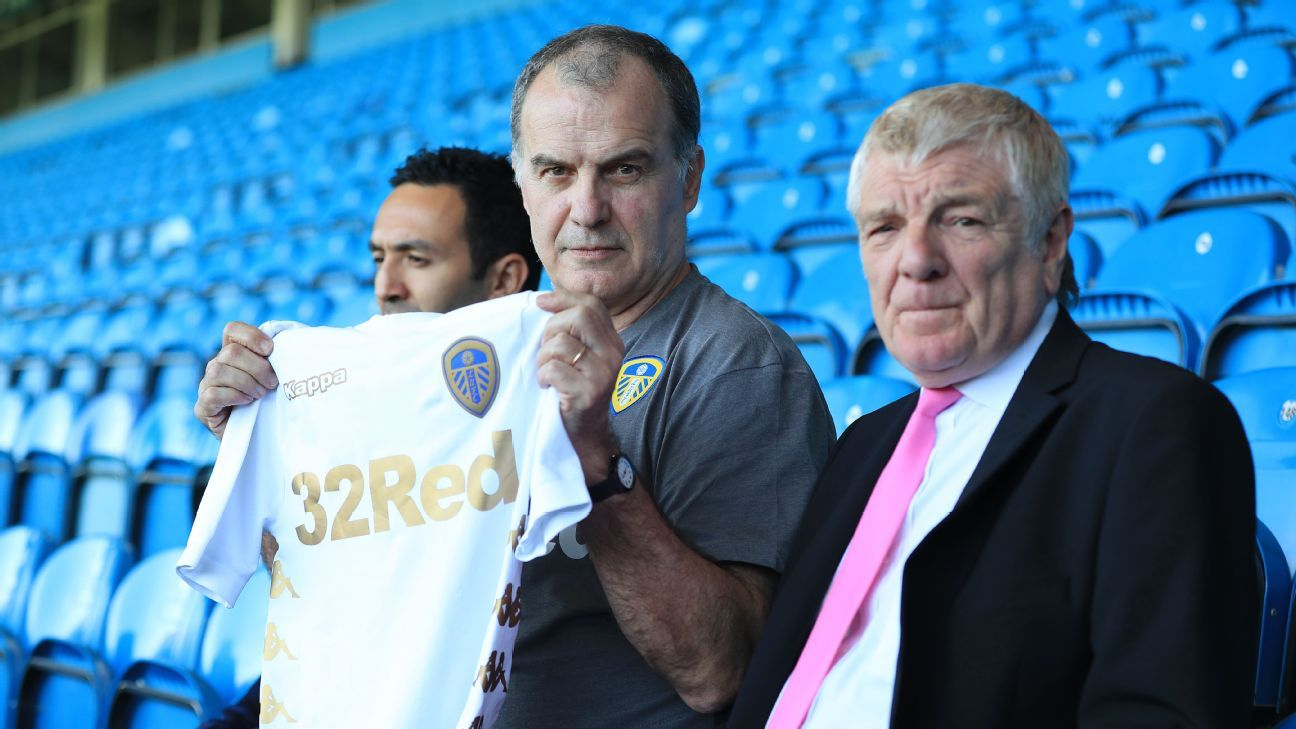 New Leeds United manager Marcelo Bielsa.