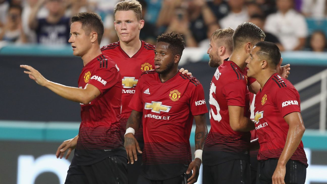 Fred has caught the eye during Manchester United's preseason.