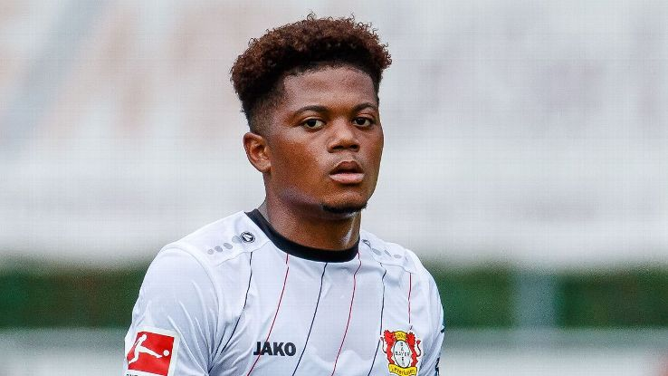 Bayer Leverkusen's Leon Bailey during the friendly against Istanbul Basaksehir.