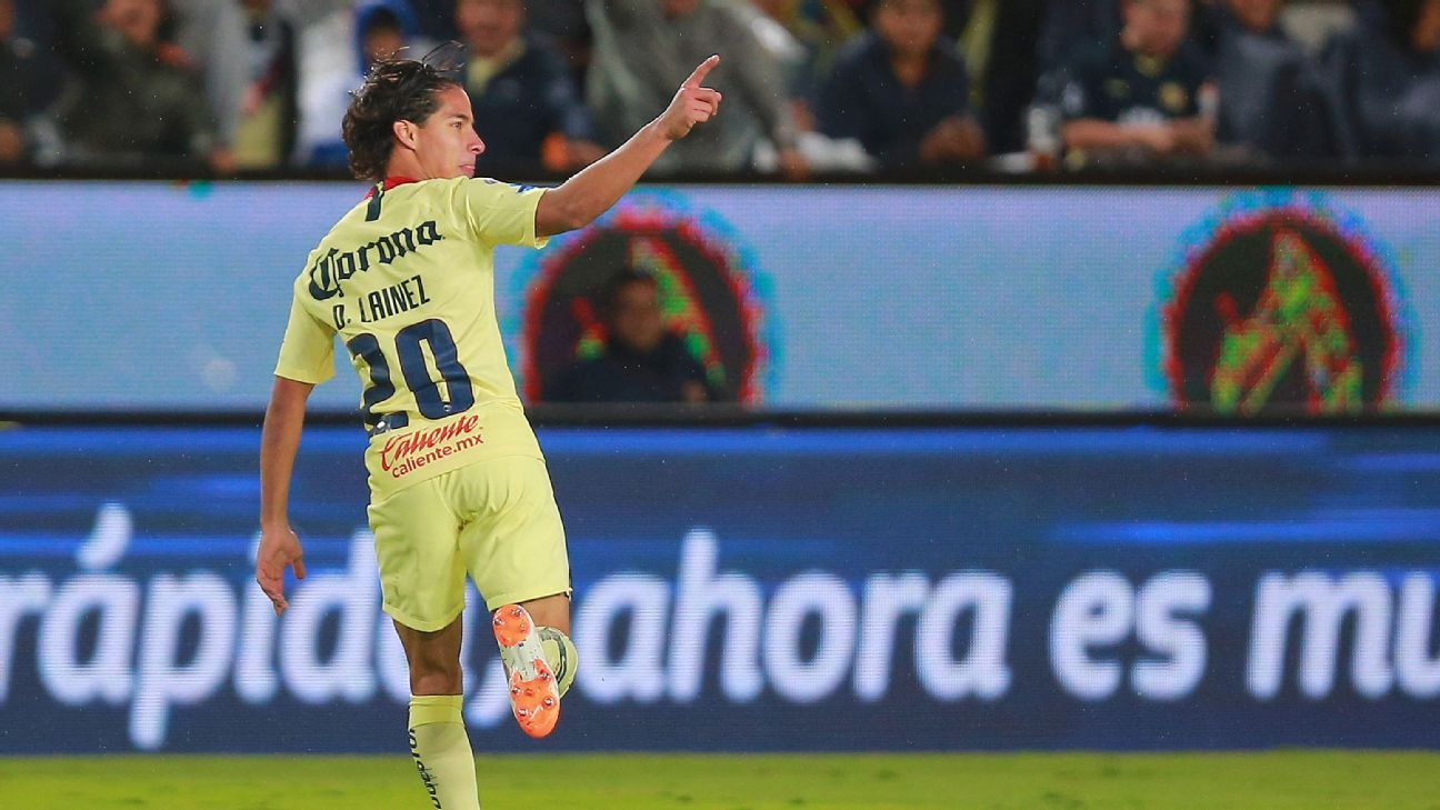Diego Lainez's two goals vs. Pachuca were the latest example of his unlimited potential.