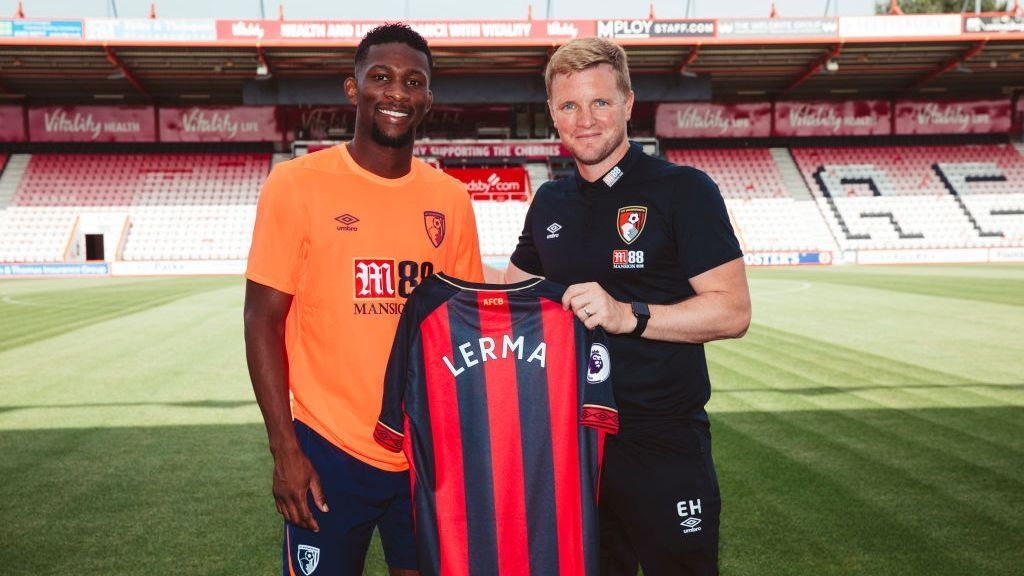 Lerma signs for Bournemouth from Levante 180807