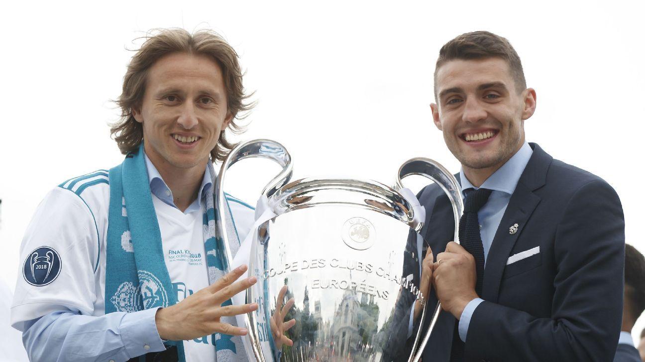 Luka Modric and Mateo Kovacic