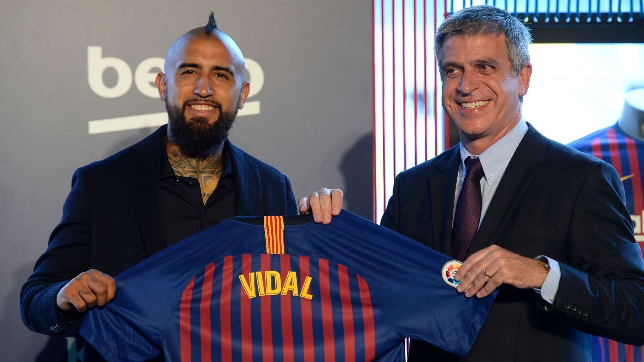 Arturo Vidal is one of the handful of players whom Jordi Mestre helped bring to Barcelona this summer.