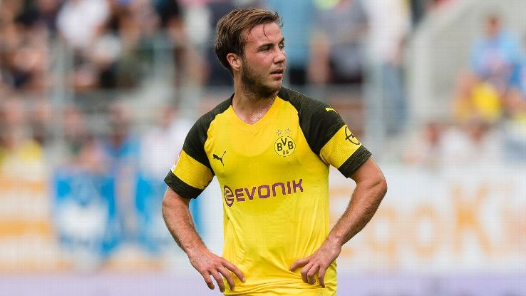 Mario Gotze returned to Borussia Dortmund in 2016 after three years at Bayern Munich
