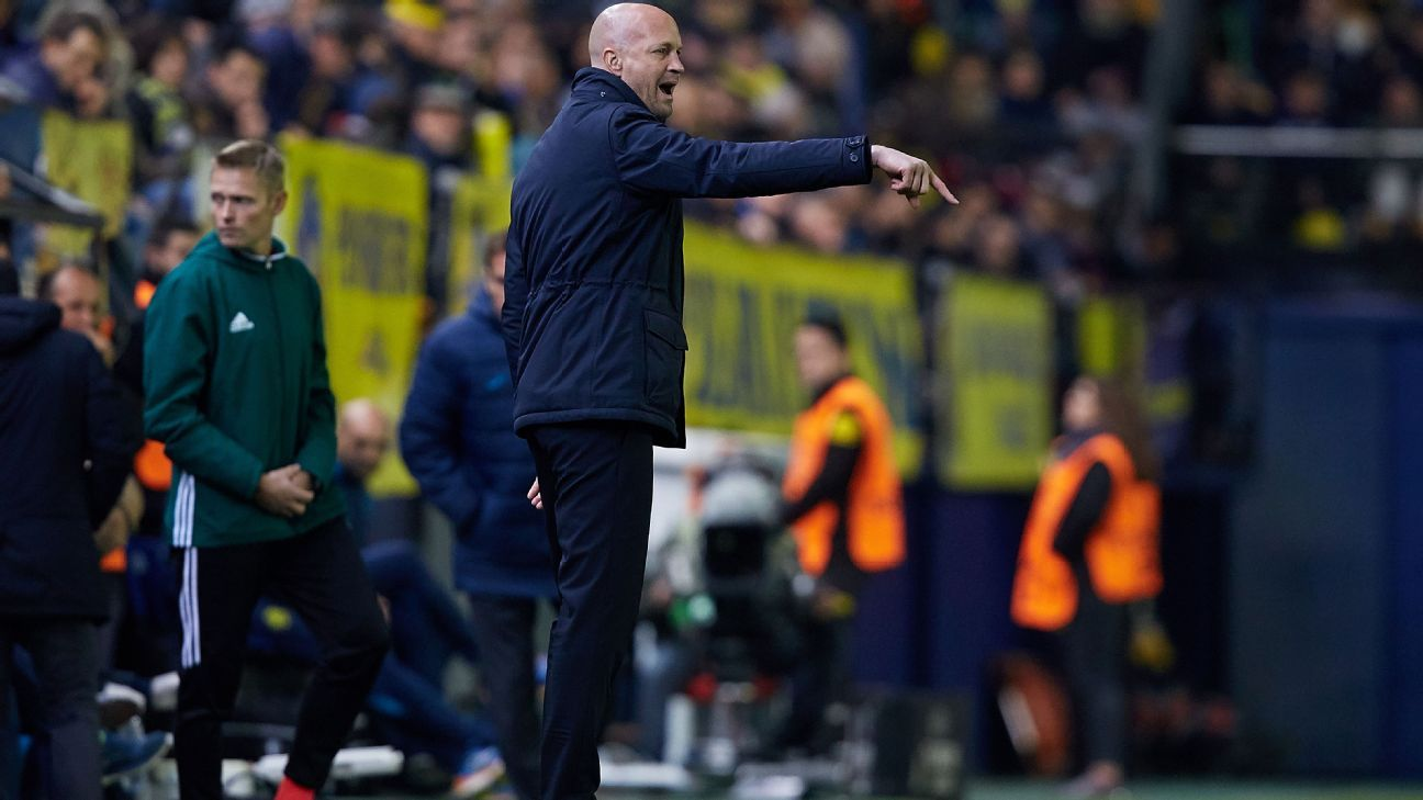 Jordi Cruyff coached Maccabi Tel Aviv for a spell last season.