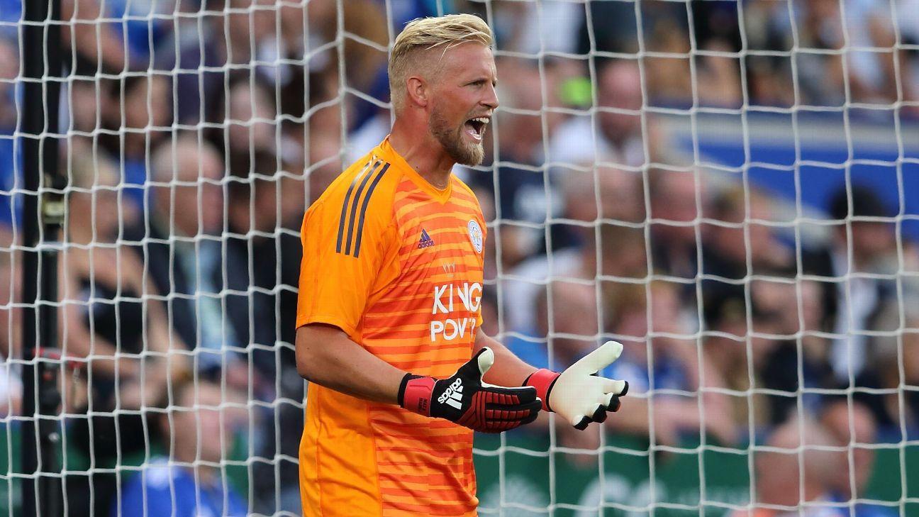 Kasper Schmiechel started all 38 of Leicester's Premier League matches in their title-winning 2015-16 season