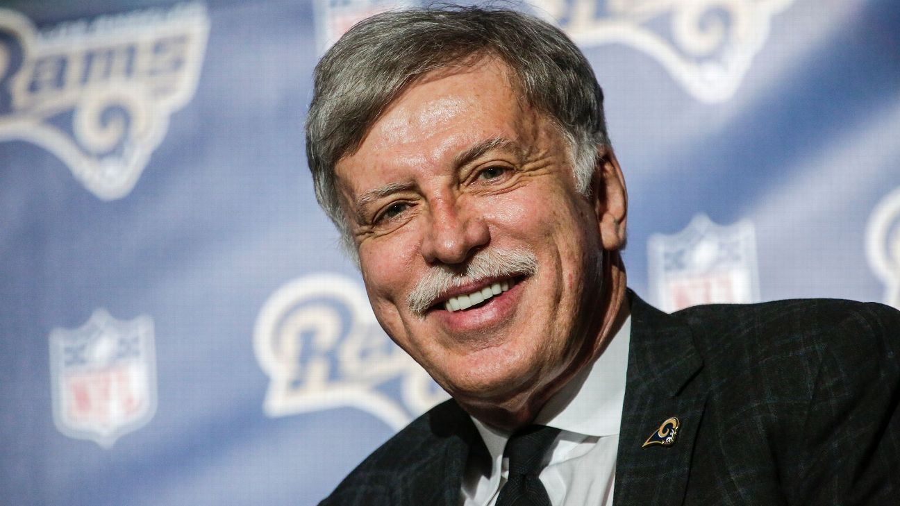 Stan Kroenke moved the NFL's Rams franchise from St Louis to Los Angeles in 2016