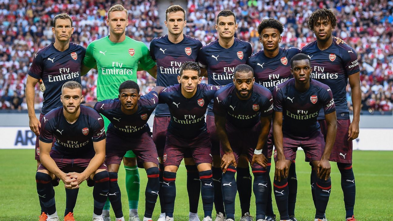 Arsenal's new look is part of a club-wide shift to move away from Arsene Wenger both on and off the pitch.