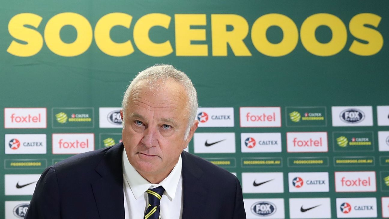Graham Arnold became Australia coach after the 2018 World Cup.