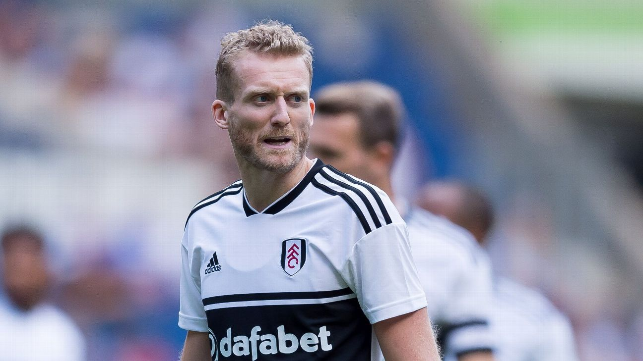 Fulham's Andre Schuerrle during a friendly against Florenz.