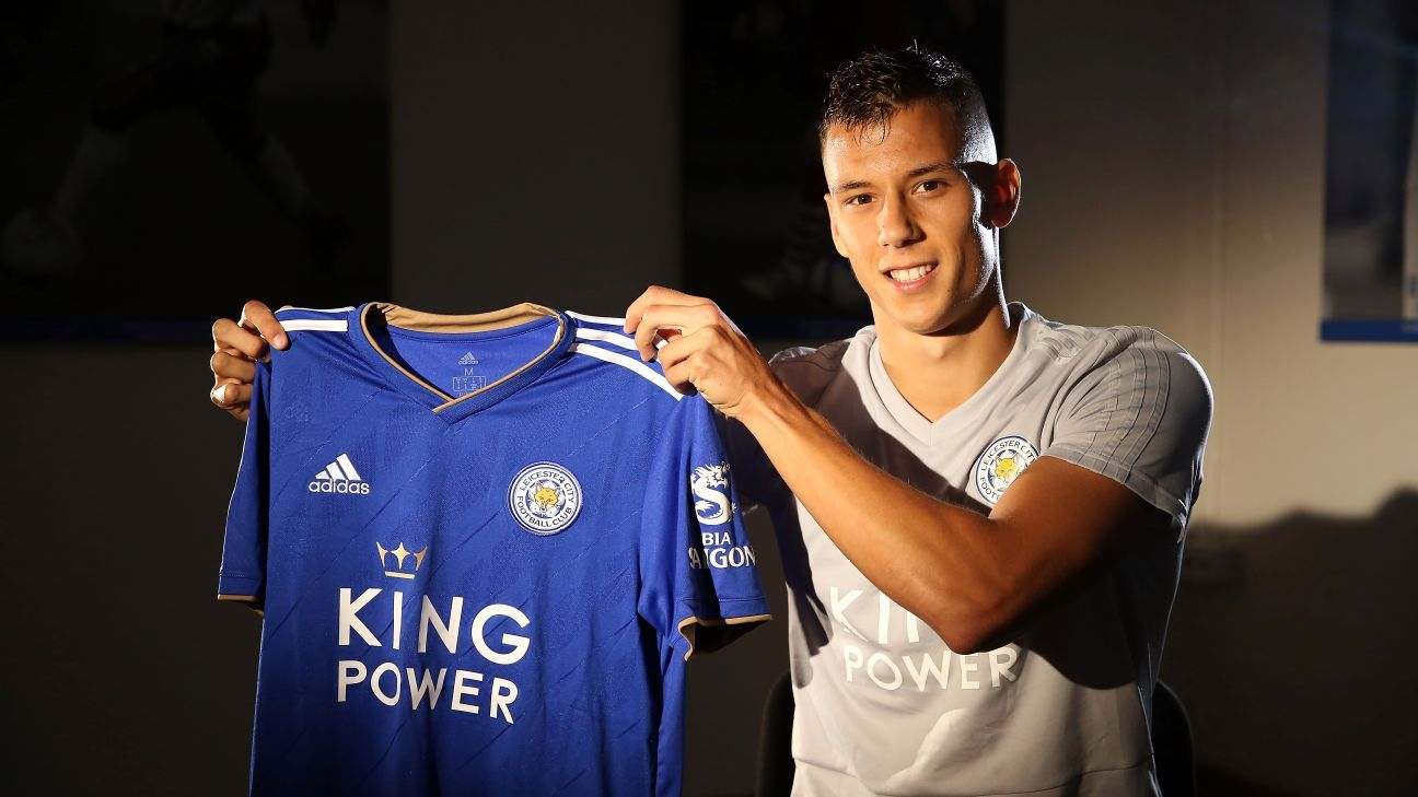 Filip Benkovic joined Leicester City from Dinamo Zagreb on a five-year contract.