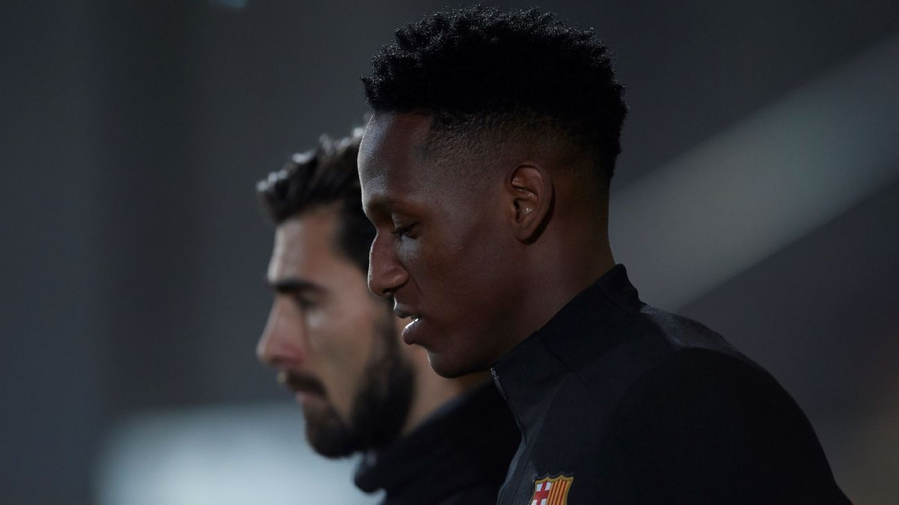 Yerry Mina and Andre Gomes are both headed to Everton.