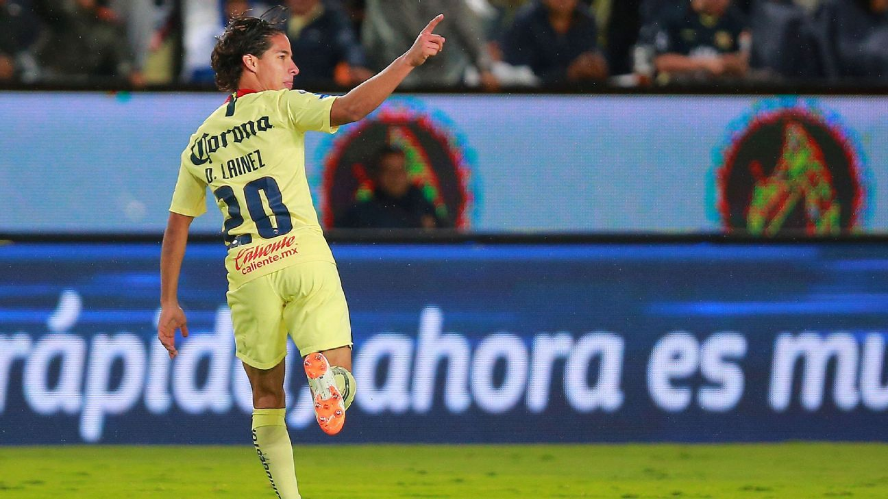 Club America's Diego Lainez will be just one of several promising youngsters on display this weekend across Liga MX.