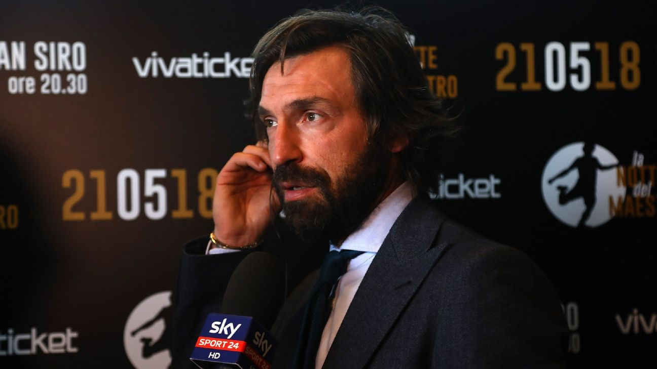 Andrea Pirlo's television commitments have halted his bid to become Italy No.2.