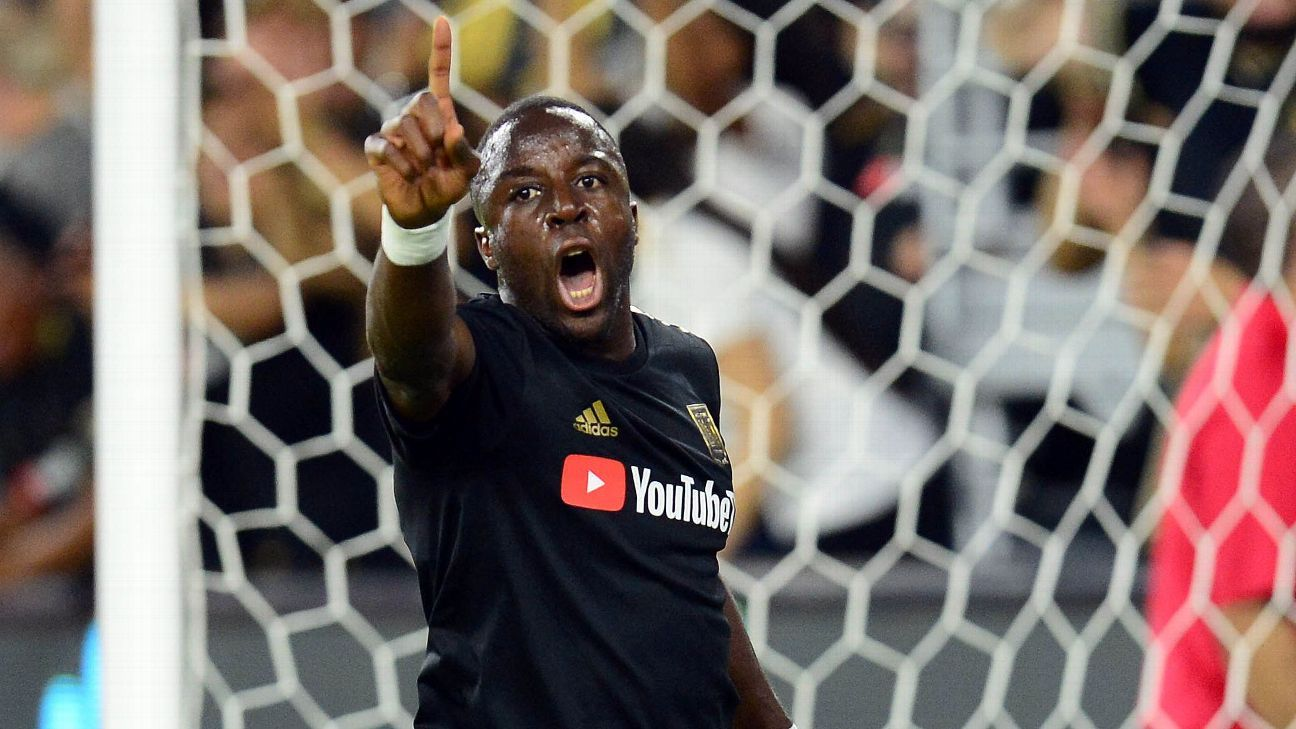 Adama Diomande is in his first season with LAFC.