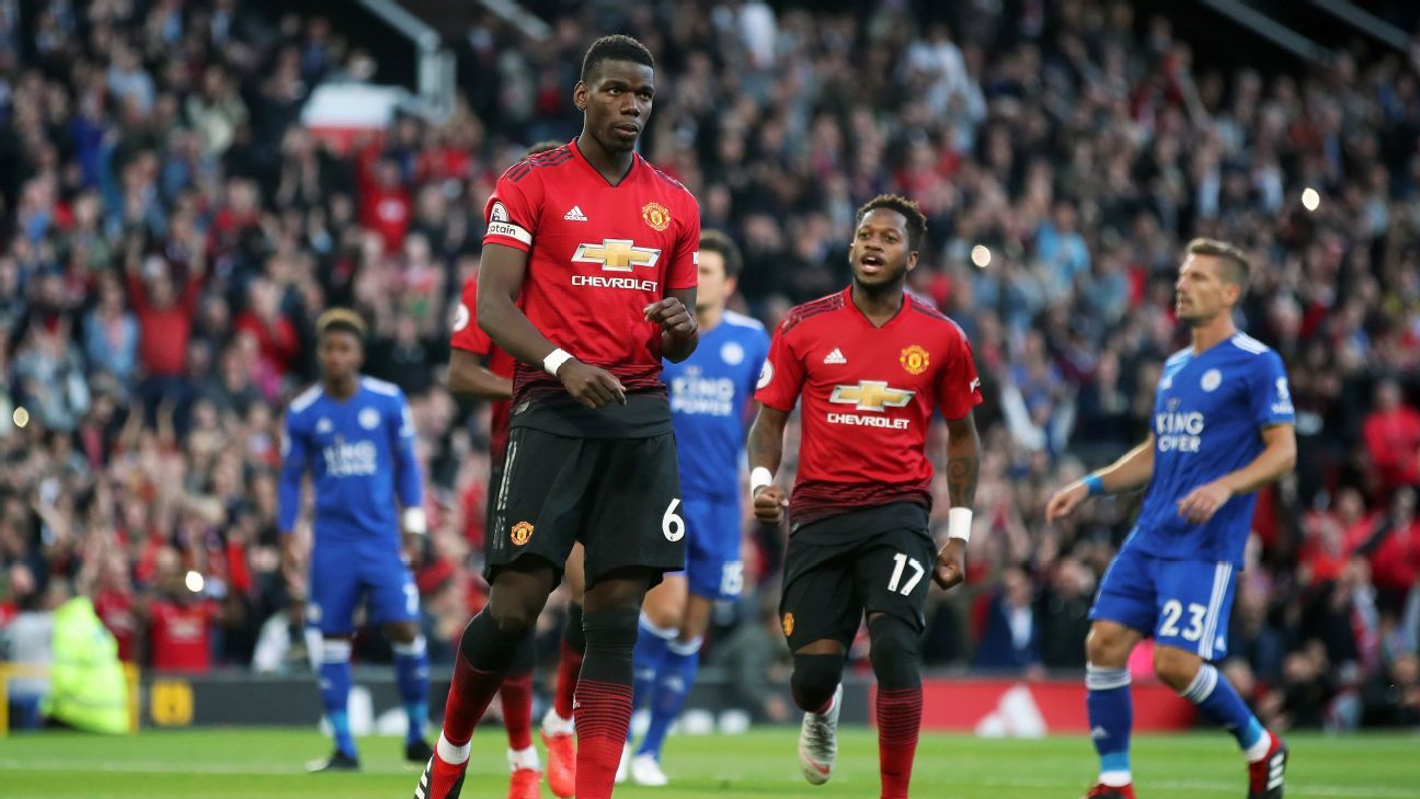 Paul Pogba blocked out the outside noise to score the opener and captain Man United to a season-opening win.