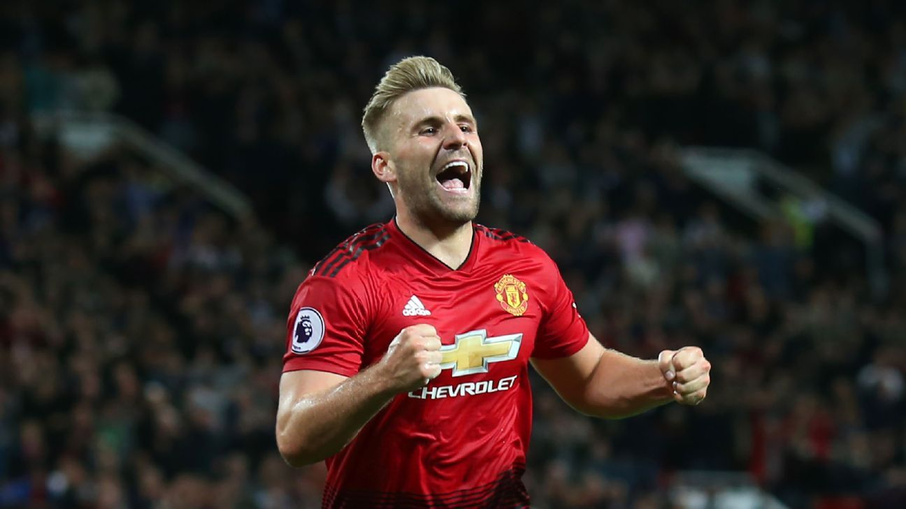 Luke Shaw's first-ever senior goal wrapped up the points for Man United at Old Trafford.