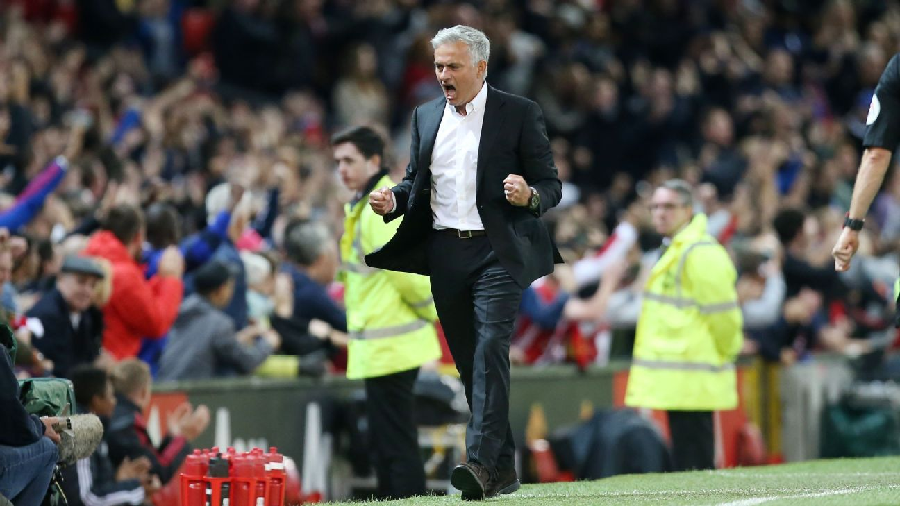For the third straight Premier League season, Jose Mourinho's Man United started with a win.