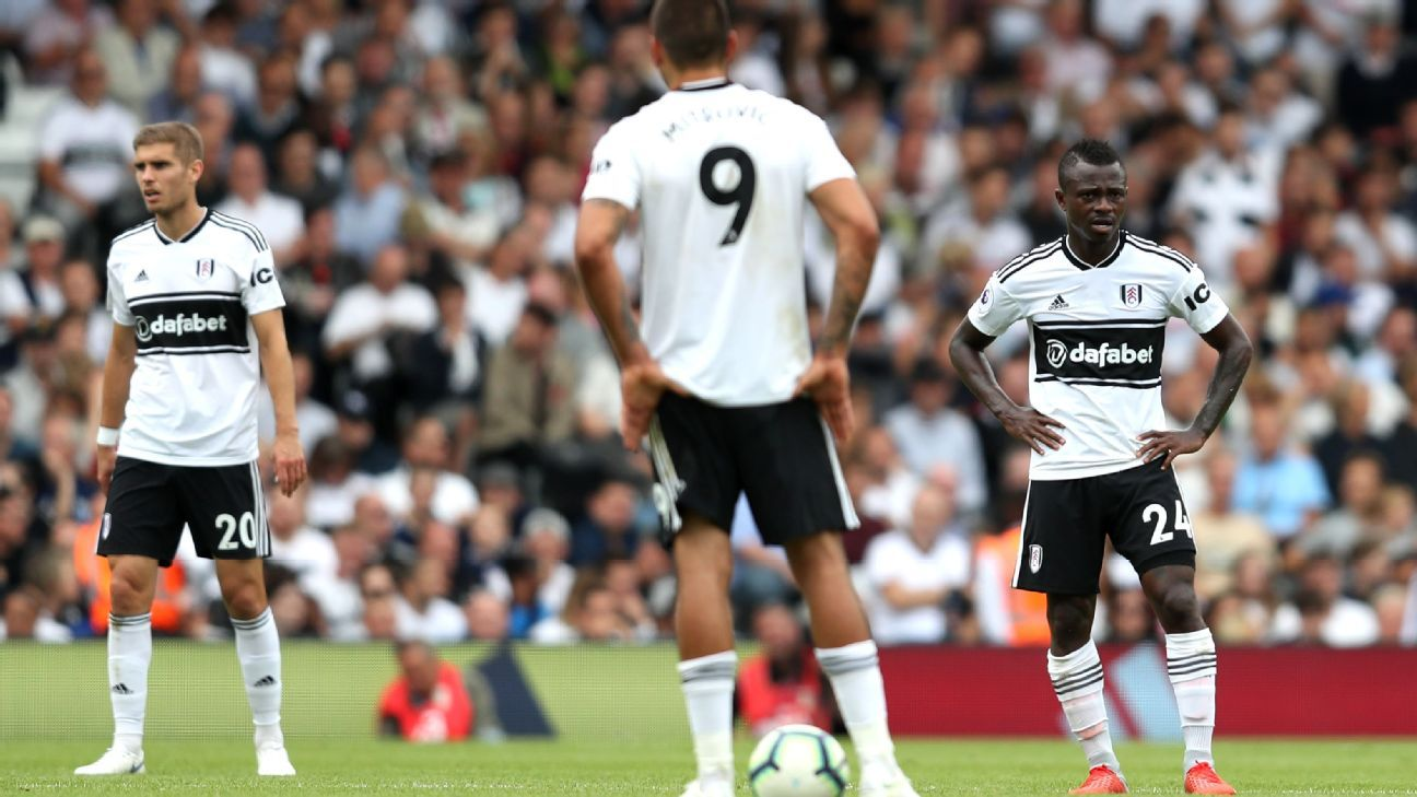 Fulham were unable to mark their Premier League return with a victory.