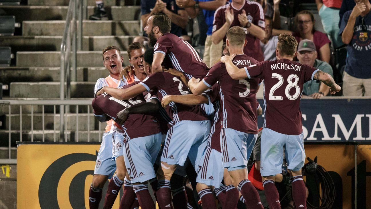 Bismark Boateng's first MLS goal lifts Colorado Rapids over the San Jose Earthquakes