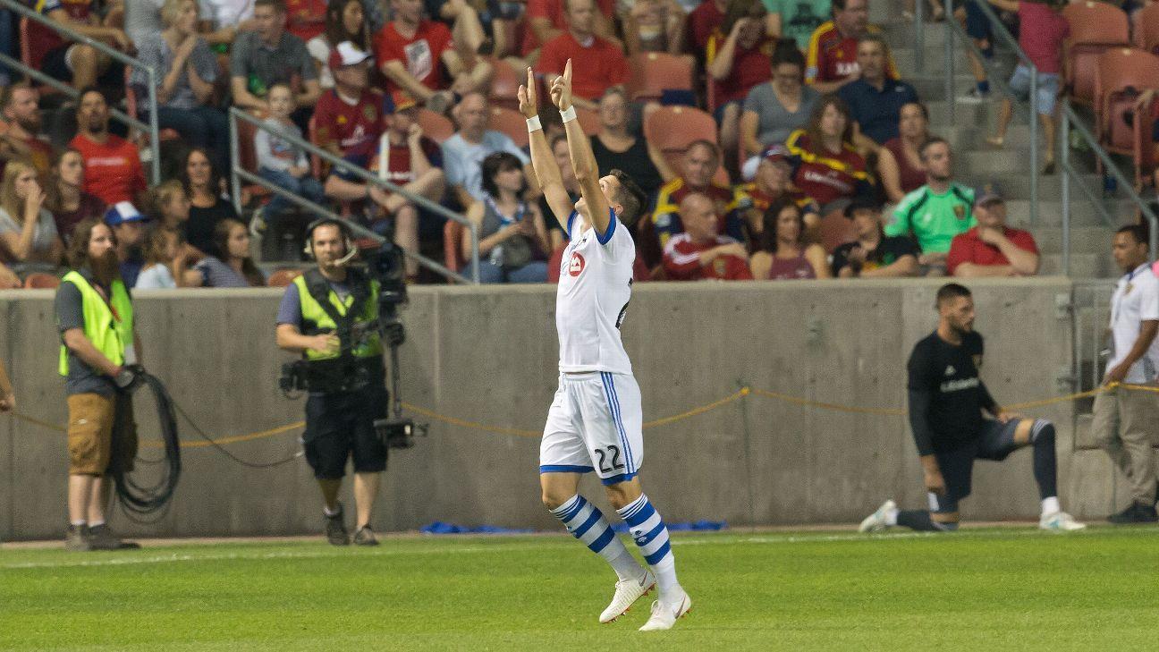Montreal Impact's Jukka Raitala salvages draw with Real Salt Lake